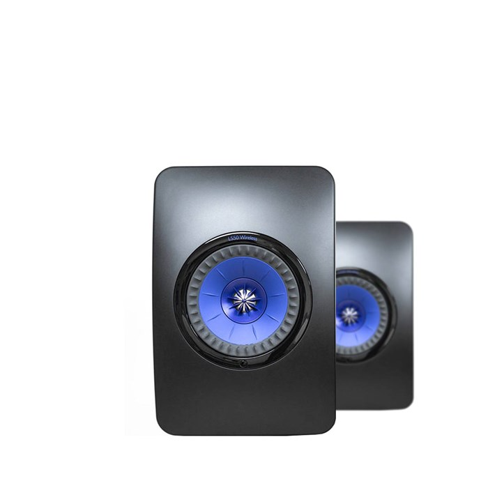 KEF LS50 Wireless Nearfield Monitors - Black