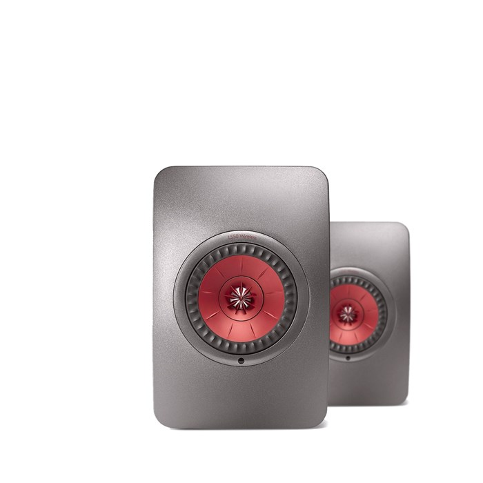 KEF LS50 Wireless Nearfield Monitors - Titanium