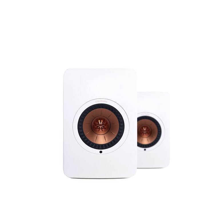 KEF LS50 Wireless Nearfield Monitors - White
