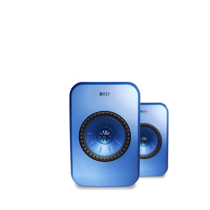 KEF LSX Wireless Speakers - Blue