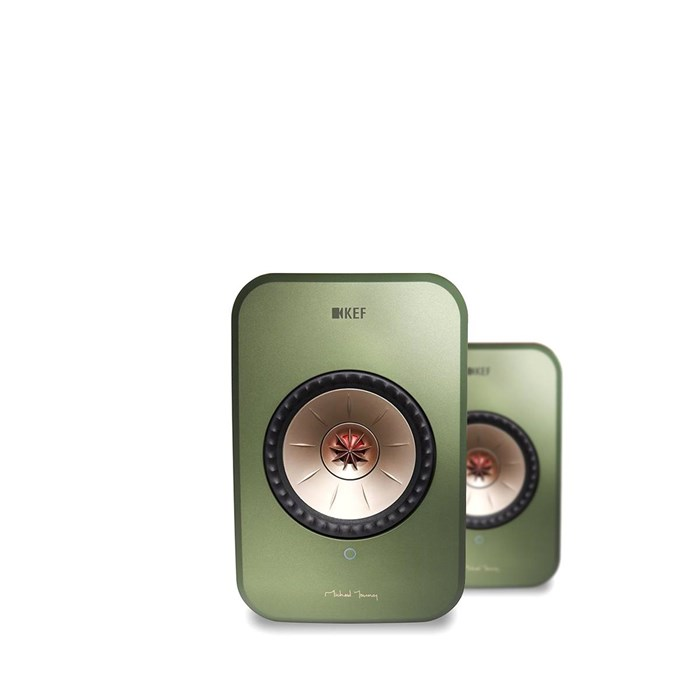 KEF LSX Wireless Speakers - Green