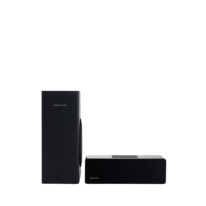 Orbitsound M9 Soundbar and Subwoofer - Black