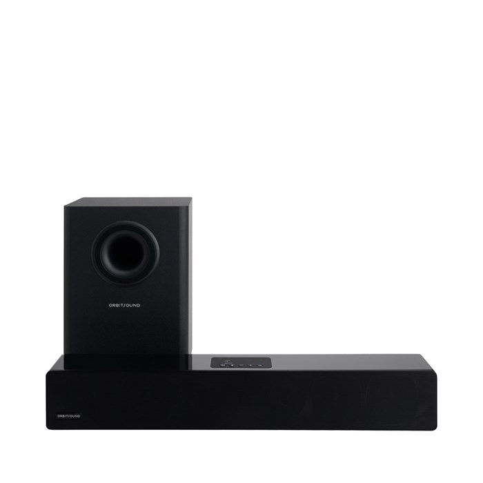 Orbitsound M12 Soundbar and Subwoofer - Black