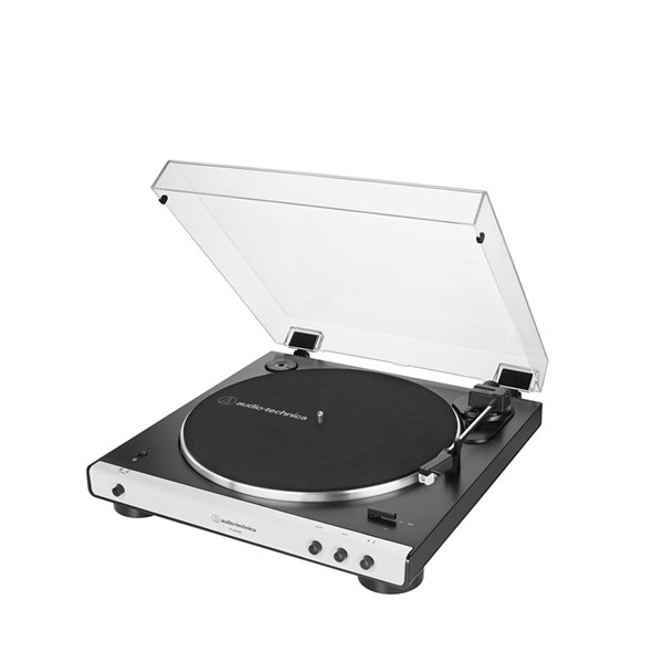 Audio Technica AT-LP60xBT Bluetooth Turntable - White