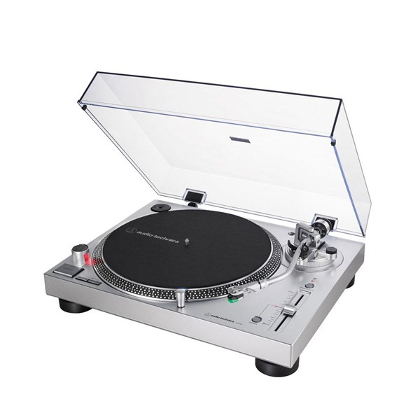 Audio Technica AT-LP120xUSB Direct-drive Turntable - Silver