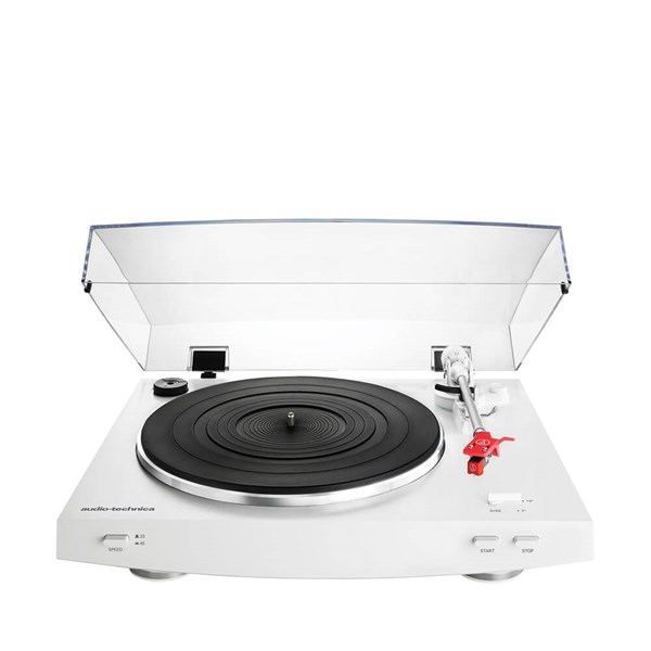 Audio Technica AT LP3 Auto Belt Drive Turntable White
