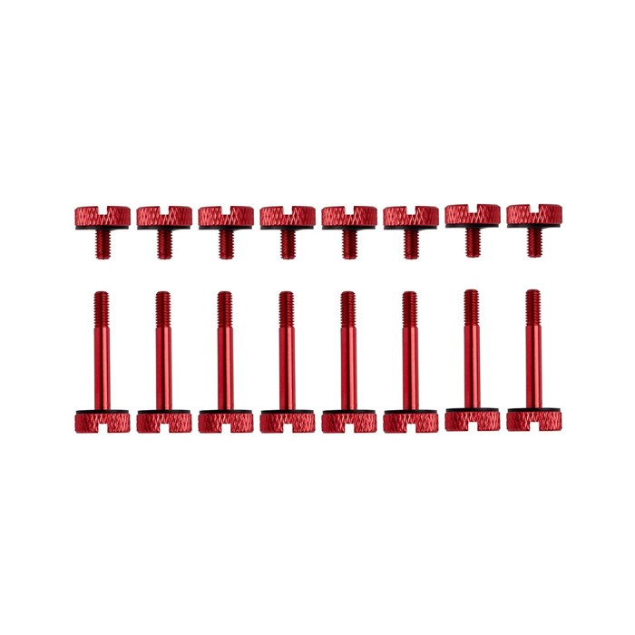 Corsair Crystal 570X Anodized Aluminum Thumbscrews - Red