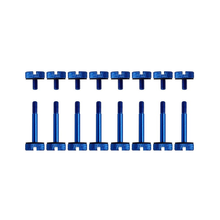 Corsair  Crystal 570X Anodized Aluminum Thumbscrews - Blue