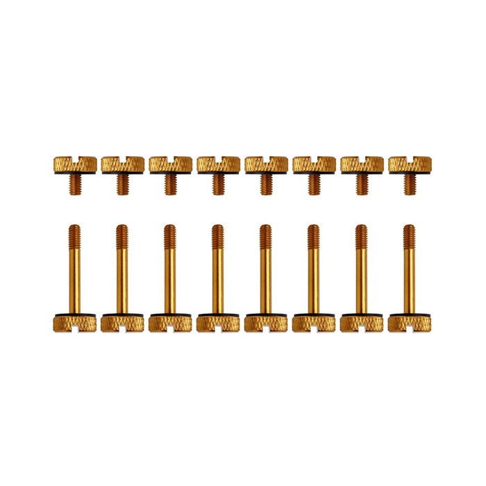 Corsair   Crystal 570X Anodized Aluminum Thumbscrews - Gold