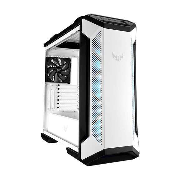 ASUS TUF Gaming GT501 Tempered Glass Mid Tower Case - White