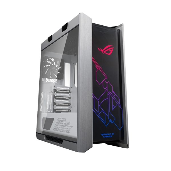 ASUS ROG Strix Helios Tempered Glass Mid-Tower Chassis - White