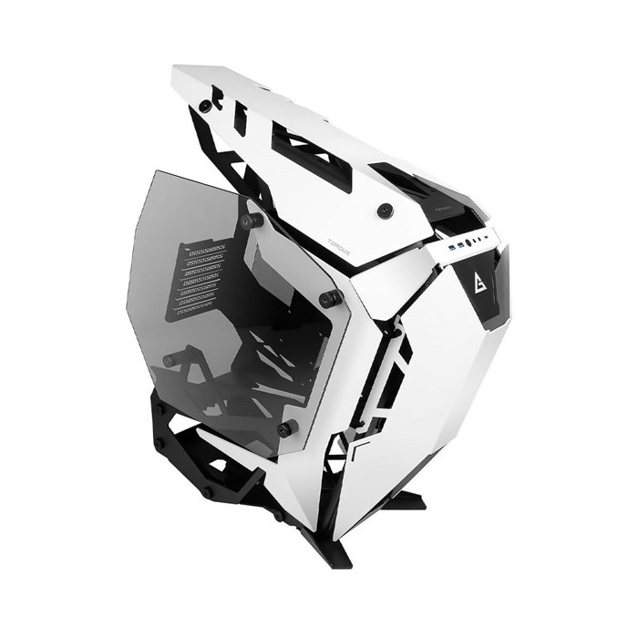 Antec Torque Tempered Glass Open-Air Mid-Tower Case - Black/White