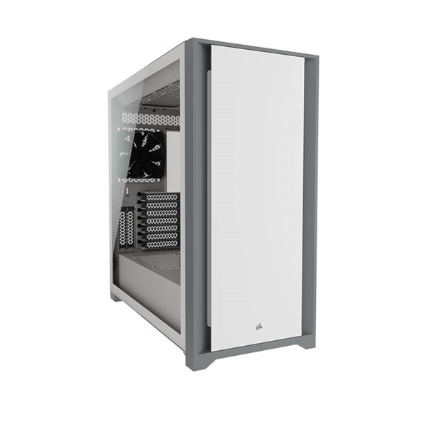 Corsair 5000D Tempered Glass Mid-Tower Case - White