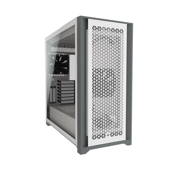 Corsair 5000D AIRFLOW Tempered Glass Mid-Tower Case - White