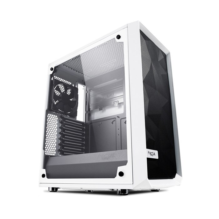 Fractal Design Meshify C TG Mid-Tower - White