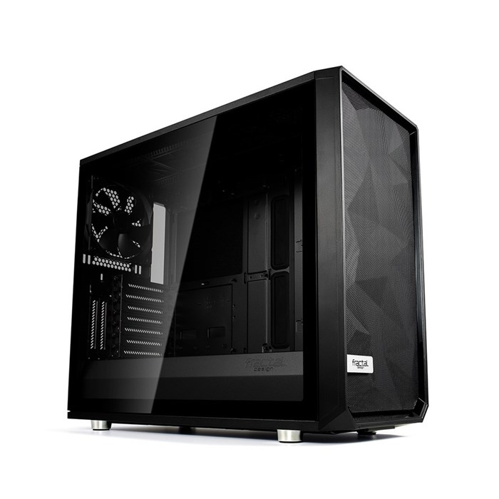 Fractal Design Meshify S2 TG Mid Tower - Black - Dark Tint