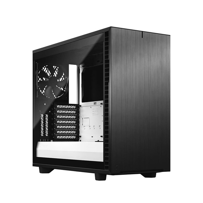 Fractal Design Define 7 Mid Tower Black / White Tempered Glass Clear