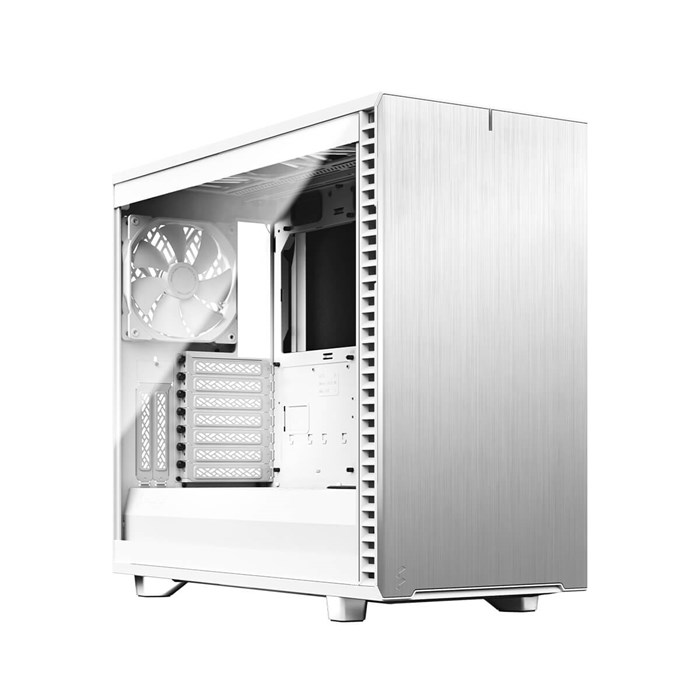 Fractal Design Define 7 Mid Tower White Tempered Glass Clear Tint