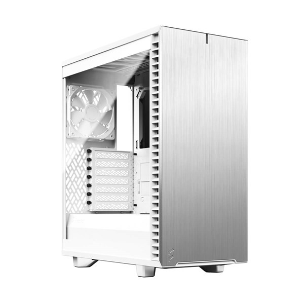 Fractal Design Define 7 Compact Mid Tower Case White TG - Light Tint