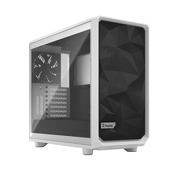 Fractal Design Meshify 2 Mid Tower Case - White TG Clear Tint