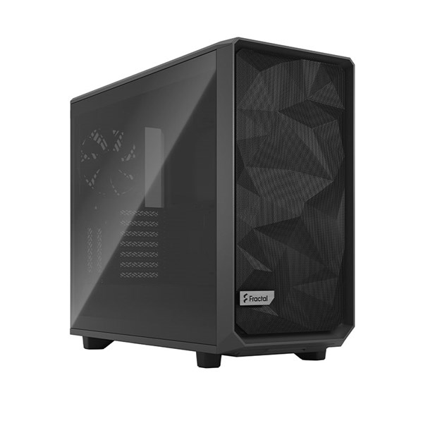 Fractal Design Meshify 2 Mid Tower Case - Black TG Light Tint