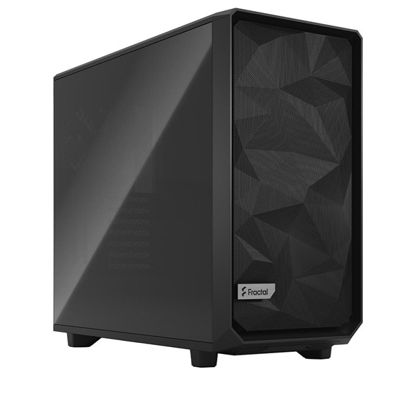 Fractal Design Meshify 2 Mid Tower Case - Black TG Dark Tint