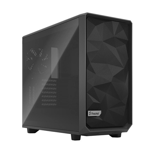 Fractal Design Meshify 2 Mid Tower Case - Gray TG Light Tint