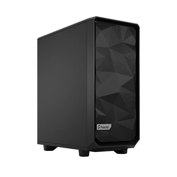Fractal Design Meshify 2 Compact Black Mid Tower - Solid Panel