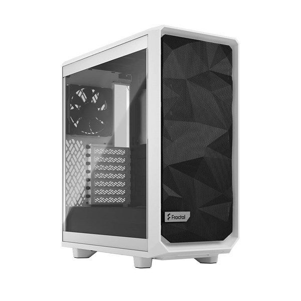 Fractal Design Meshify 2 Compact White Mid Tower - TG Clear Tint