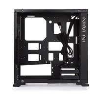 Inwin 805 Aluminum Tempered Glass Mid Tower - Black - pr_283525