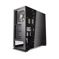 Inwin 805 Aluminum Tempered Glass Mid Tower - Black - pr_283526