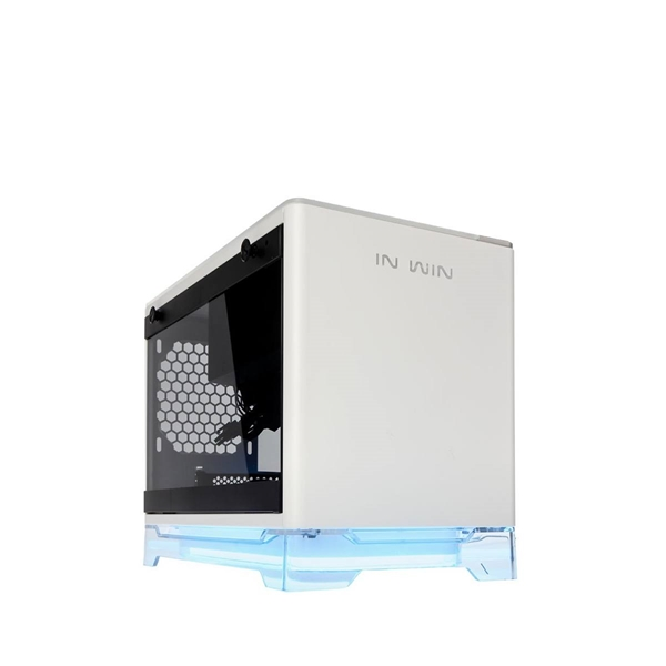 Cases - Inwin A1 Tempered Glass Wireless Charging Mini-ITX Case