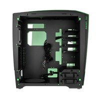 Inwin H-Frame 2.0 Tower Chassis - Black/Green - pr_283802