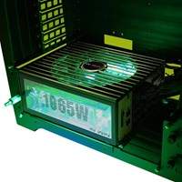 Inwin H-Frame 2.0 Tower Chassis - Black/Green - pr_283798