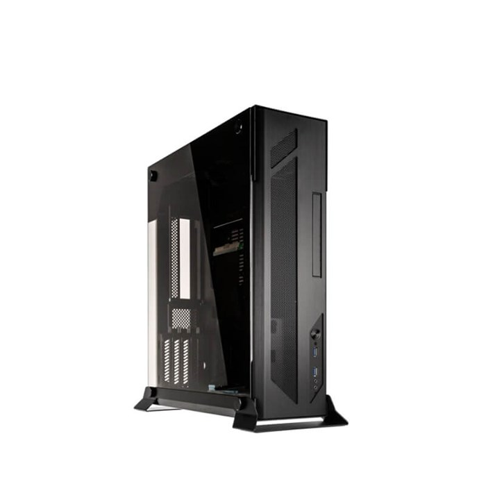 Lian-Li PC-O5X Aluminium Tempered Glass Mini-ITX Case