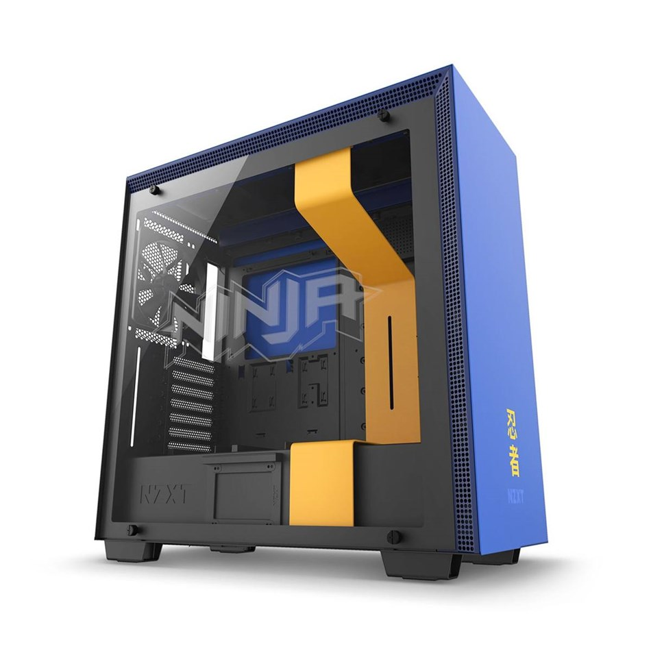 NZXT  H700i Ninja Premium Tempered Glass Mid-Tower Case - Speical Edition  0