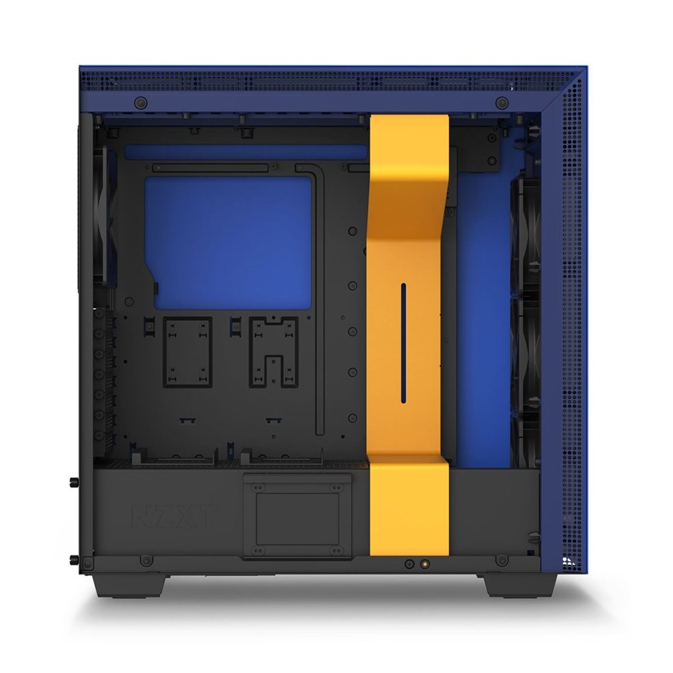 NZXT  H700i Ninja Premium Tempered Glass Mid-Tower Case - Speical Edition  3