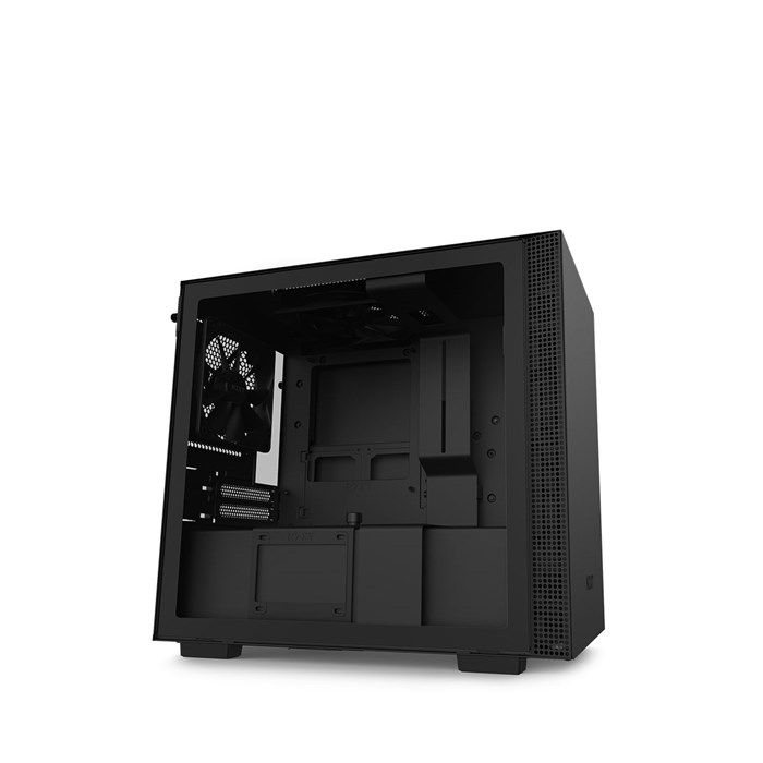 NZXT H210 Mini-ITX Case with Tempered Glass - Black