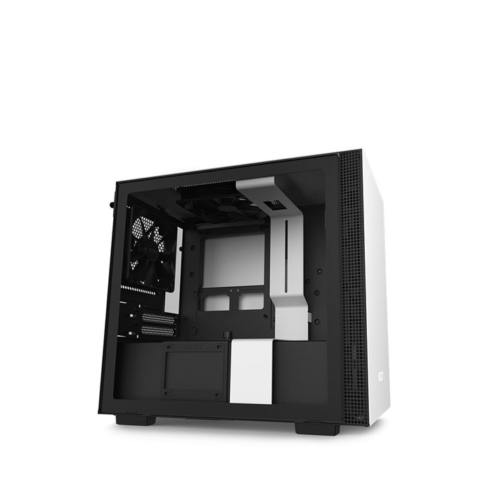 NZXT H210 Mini-ITX Case with Tempered Glass - White