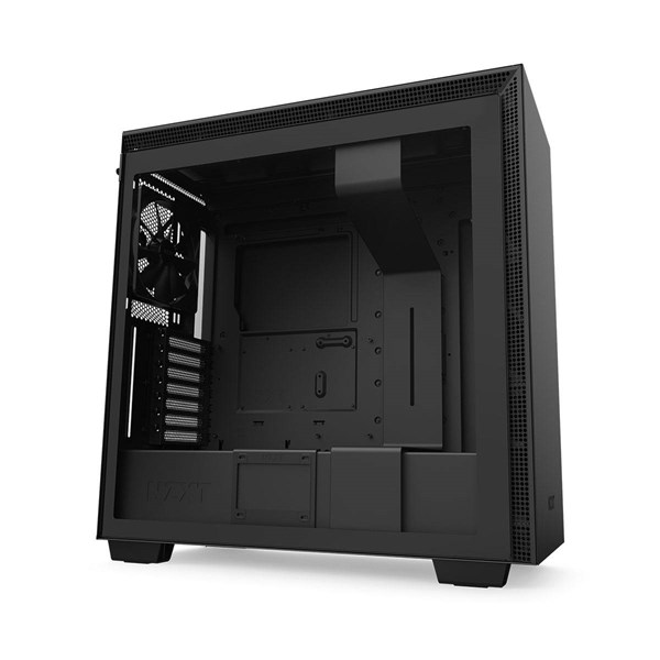 NZXT H710 Mid-Tower Case with Tempered Glass - Matte Black