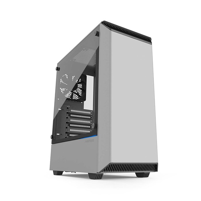 Phanteks Eclipse P300 Tempered Glass Mid Tower Case - White