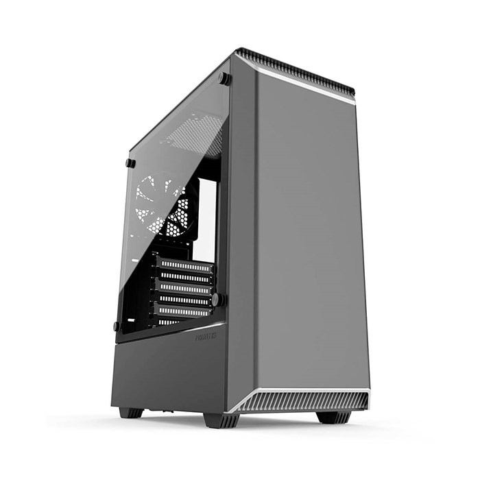 Phanteks Eclipse P300 Tempered Glass Mid-Tower Case - Black/White