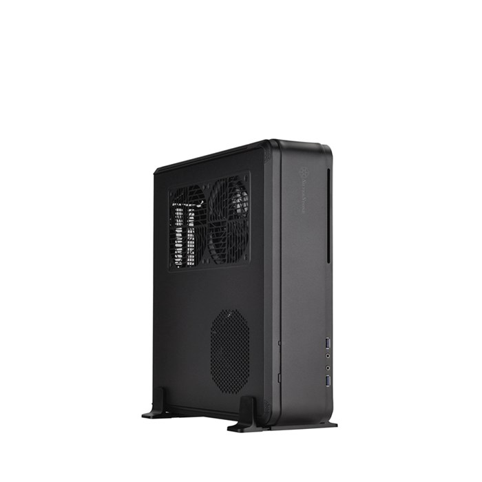 Silverstone Fortress Series FTZ01 Mini-ITX Case - Black