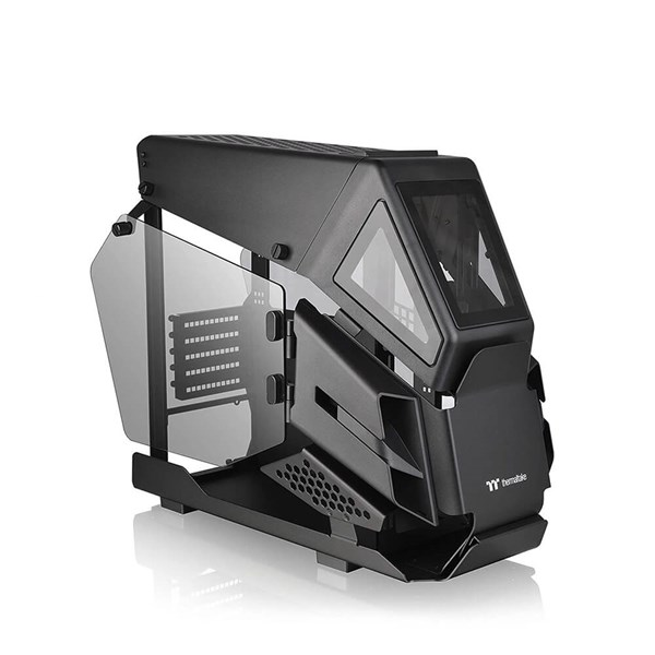 Thermaltake AH T200 Tempered Glass Case - Black