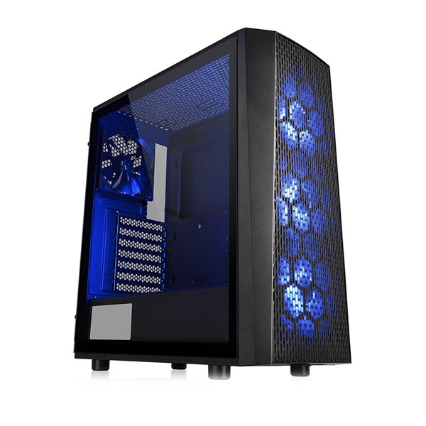 Thermaltake Versa J24 RGB Tempered Glass Edition Mid Tower Chassis