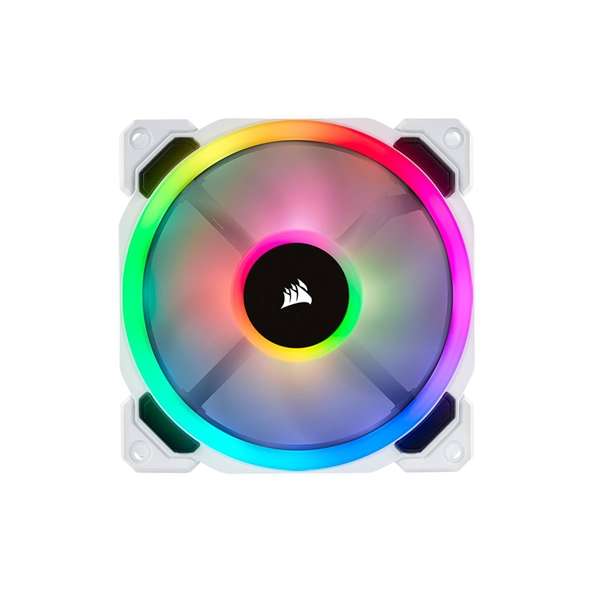 Fans - Corsair LL120 RGB 120mm Dual Light Loop RGB LED PWM Fan