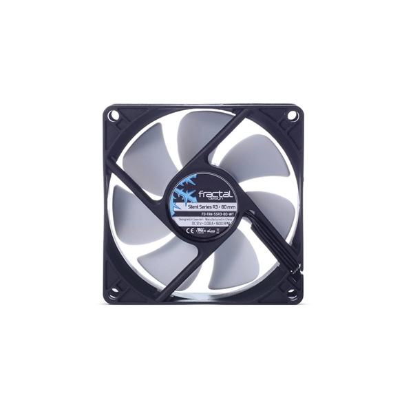 Fractal Design Silent Series R3 Case Fan 80mm  1