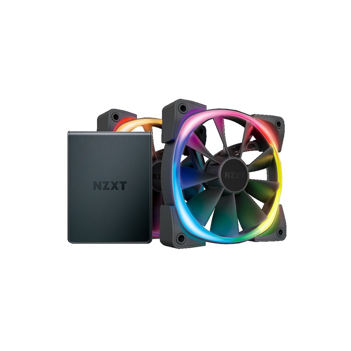 NZXT Aer RGB 2 Starter Kit with 2x 120mm Aer RGB 2 Fans