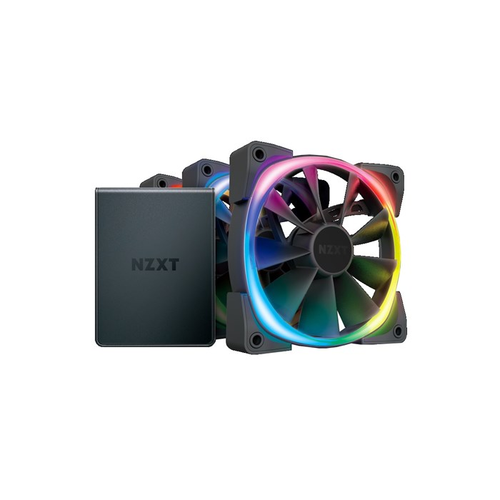 NZXT Aer RGB 2 Starter Kit with 3x 120mm Aer RGB 2 Fans