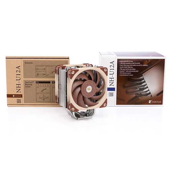 Noctua NH-U12A CPU Cooler with 2x NF-A12X25 PWM Fans  4